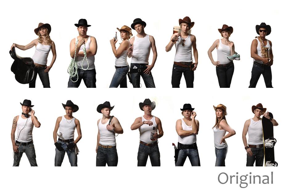Bildmontage Mitarbeiterportraits für APD Events - Eventagentur von Radiosender Antenne Niedersachsen - von stefanie lombert : grafikdesign Hannover