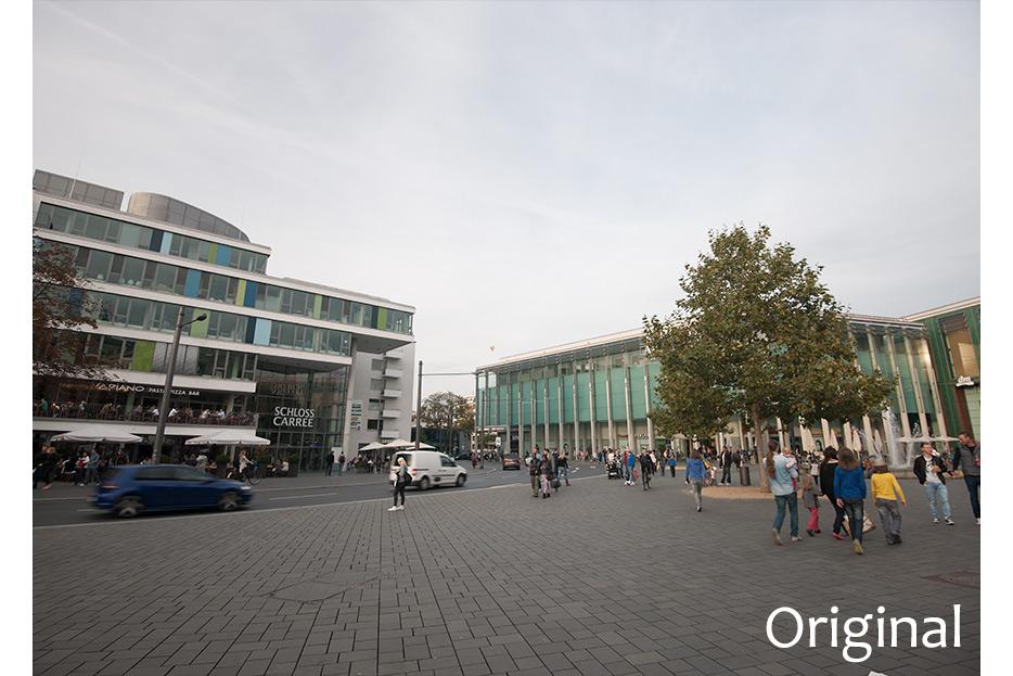 Bildmontage Bild vorher für Braunschweig Stadtmarketing GmbH von stefanie lombert : grafikdesign Hannover