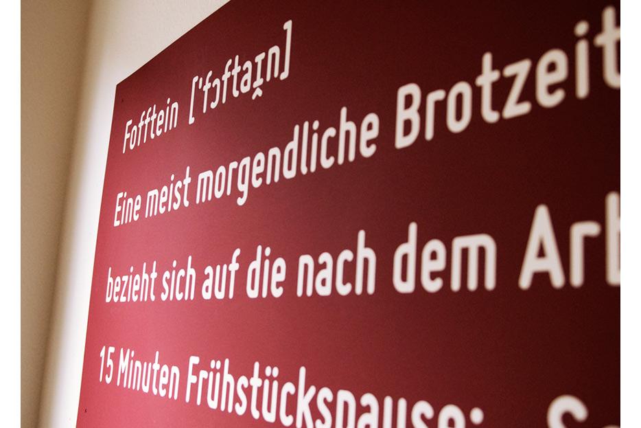 Wandbild im café fofftein in der Oststadt Hannover gestaltet von stefanie lombert : grafikdesign Hannover