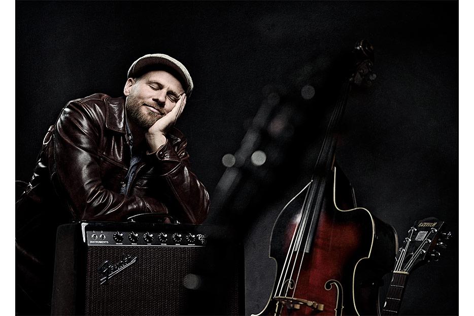 Bildbearbeitung für Imageaufnahmen von Musiker James Sunburst aus Hannover - nachher - von stefanie lombert : grafikdesign Hannover