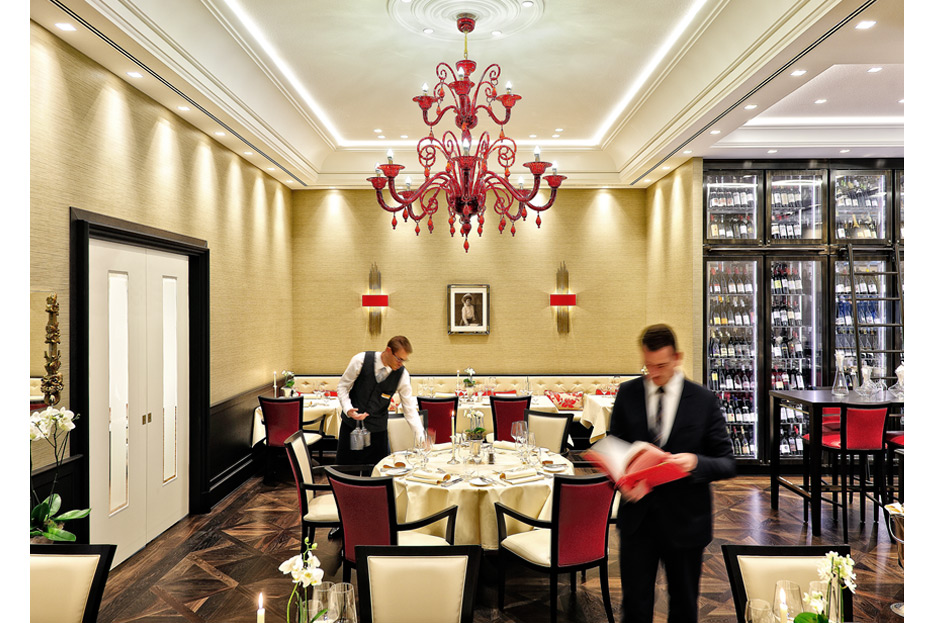 Bildmontage für Restaurant MARY's im Kastens Hotel Luisenhof von stefanie lombert : grafikdesign Hannover